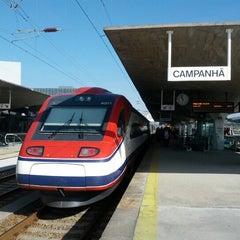 Photo taken at Estação Ferroviária de Porto-Campanhã by Carlos L. on 10/13/2012