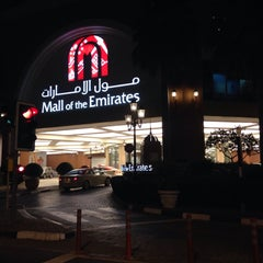 Photo taken at Mall of the Emirates Mosque مسجد مول الإمارات by Dasha K. on 3/9/2015