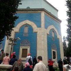 Photo taken at Yeşil Türbe by A on 6/1/2014