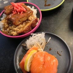Photo taken at YO! Sushi by Yann G. on 10/21/2012