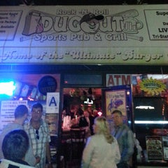 Photo taken at Dugout Pub & Grill by Andrew P. on 10/13/2013
