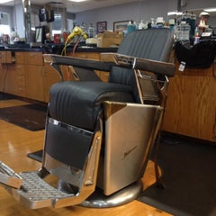 Photo taken at Mustang Barbers by Todd B. on 2/5/2014