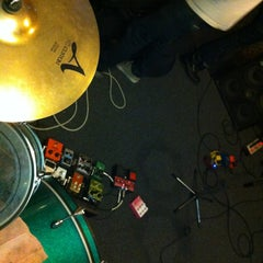Photo taken at Flood Music Studios by Adam B. on 3/17/2013
