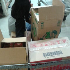 Photo taken at LotteMart Wholesale by Dini P. on 8/1/2014