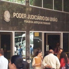 Photo taken at Tribunal Regional do Trabalho da 3ª Região by Paulo V. on 9/27/2012