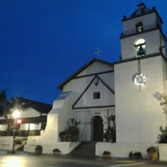 Photo taken at Mission San Buenaventura by Masha on 12/23/2012