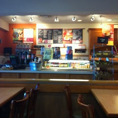 Photo taken at Bruegger's Bagel Bakery by Colleen F. on 10/22/2012