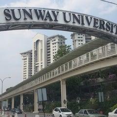 Photo taken at Sunway University by giBBs0n f. on 3/6/2014