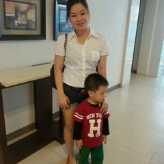 Photo taken at Field Residences Lobby by Sweet Grace G. on 1/11/2013