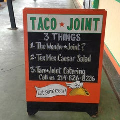 Photo taken at Taco Joint by Felix on 7/27/2013