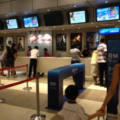Photo taken at TGV Cinemas by Kartini I. on 7/13/2012