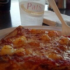 Photo taken at Pat's Pizzeria by Jennifer M. on 5/28/2014