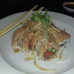 Photo taken at Newport Fusion Sushi by Christopher G. on 11/7/2015