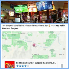 Photo taken at Red Robin Gourmet Burgers by Jerry T. on 6/16/2015