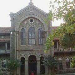 Photo taken at Fergusson College by Janak K. on 12/20/2015