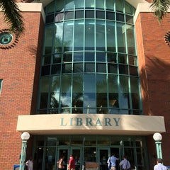 Photo taken at Broward College Library - Central Campus by Broward College S. on 5/30/2014