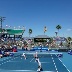 Photo taken at Delray Beach International Tennis Championships (ITC) by Miami Tennis N. on 3/3/2013