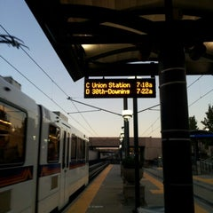Photo taken at RTD Downtown Littleton Station by Patrick K. on 10/15/2012