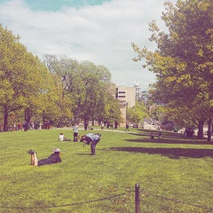 Photo taken at Bascom Hill by Jake S. on 5/15/2015