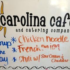 Photo taken at Carolina Cafe by Ryal C. on 3/6/2013