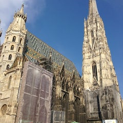 Photo taken at Stephansdom | St. Stephen's Cathedral by Vasily K. on 6/9/2013