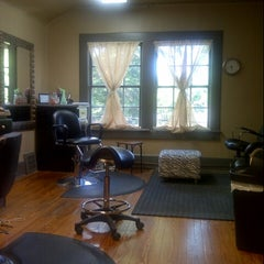 Photo taken at Augusta Place Salon by Lisa G. on 5/31/2013
