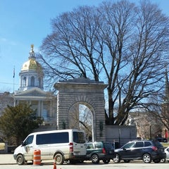 Photo taken at New Hampshire State House by Ali A. on 3/31/2015