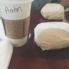 Photo taken at Starbucks by Anton S. on 3/30/2014