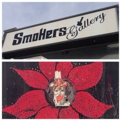 Photo taken at Smoker's Gallery by Carlos U. on 2/19/2014