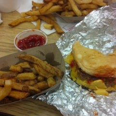 Photo taken at Five Guys by Daneya T. on 9/26/2012