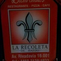 Photo taken at La Recoleta de Haedo by Gonzalo B. on 2/16/2014