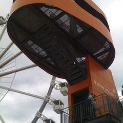 Photo taken at View Point Hamburg by Bohyun on 6/9/2012
