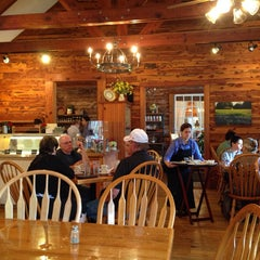 Photo taken at Cafe Homestead by Bill G. on 9/28/2013