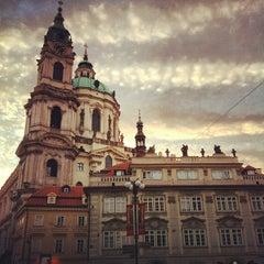 Photo taken at Malostranské náměstí by Marco E. on 9/14/2012