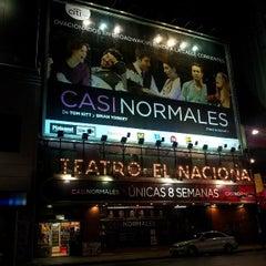 Photo taken at Teatro El Nacional by Bruno P. on 4/11/2013