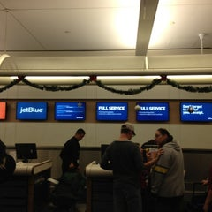 Photo taken at JetBlue Ticket Counter by Bill B. on 12/1/2012