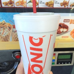 Photo taken at SONIC Drive In by Kathleen A. on 10/19/2014