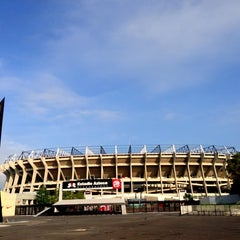 Photo taken at Estadio Azteca by Miguel D. on 6/24/2013