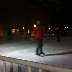 Photo taken at Fantasy on Ice at Horton Square by Karla Estrada Montenegro on 12/14/2012