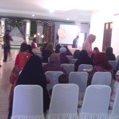 Photo taken at Asrama Haji Medan by Afra R. on 4/20/2014