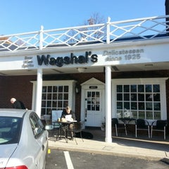 Photo taken at Wagshal's Deli by Martin B. on 11/23/2012