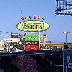 Photo taken at Supermercados Nacional by Franklin R. on 7/16/2013