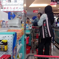 Photo taken at Carrefour by Inyong L. on 12/28/2012