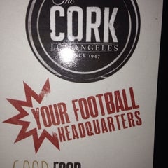 Photo taken at The Cork by James D. on 9/27/2014