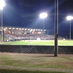 Photo taken at Rhoads Stadium by Paul M. on 4/25/2014