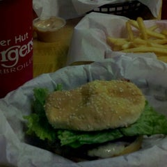 Photo taken at Burger Hut by Z-Rae on 11/19/2012