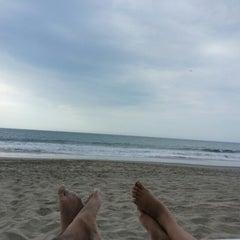 Photo taken at Playa Vichayito by Giancarlo H. on 1/5/2013