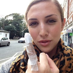 Photo taken at Hammersmith Tattoo by Allison G. on 10/25/2013