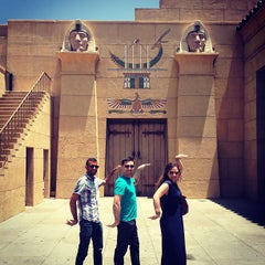 Photo taken at The Egyptian Theatre by Zahid Z. on 6/9/2013