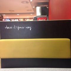 Photo taken at Burger King by Jano C. on 9/19/2013